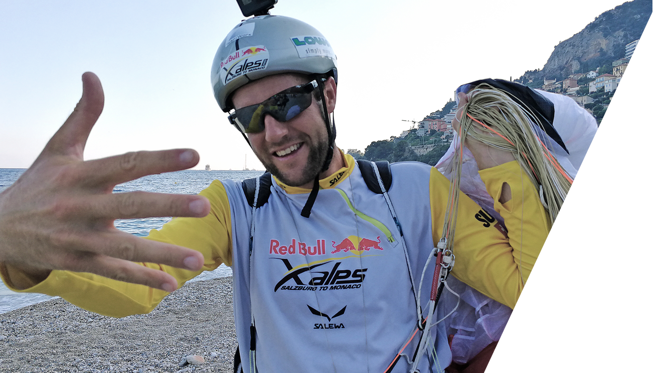 Christian Maurer Winner Red Bull X Alps 2017