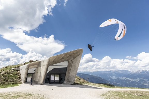 Turnpoint 4 during the Red Bull X-Alps at Kronplatz, Italy on June 18, 2019