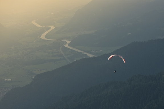 Patrick von Känel (SUI2) competes during the Red Bull X-Alps at the Wilder Kaiser mountain range, Austria on June 17, 2019.