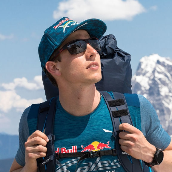 Simon Oberrauner (AUT2) performs during the preperation of the Red Bull X-Alps in Lermoos, Austria on June 4th, 2019