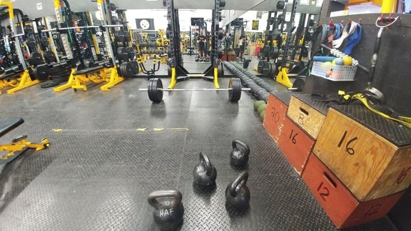 Willi Cannell's (USA3) keyword for getting in shape this winter is: kettlebells!