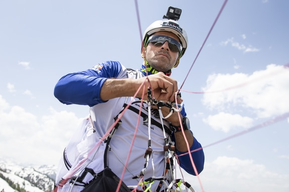 Rodolphe Akl (LBN) seen during the Red Bull X-Alps preparations in Wagrain, Austria on June 11, 2019