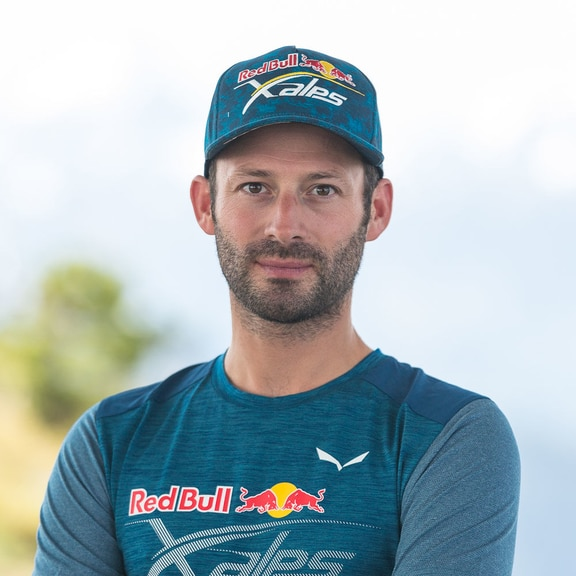 Tom de Dorlodot (BEL) poses for a portrait during the preperation of the Red Bull X-Alps in Wagrain, Austria on June 10th, 2019