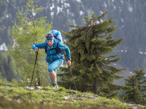 Dominika Kasieczko (POL) seen during the Red Bull X-Alps preparations in Wagrain, Austria on June 9, 2019