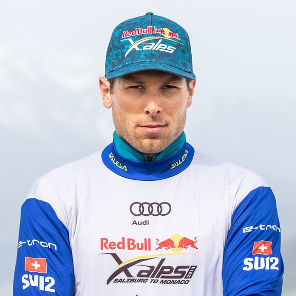 Patrick von Kanel (SUI2) poses for a portrait during the Red Bull X-Alps preparations in Wagrain, Austria on June 10, 2019