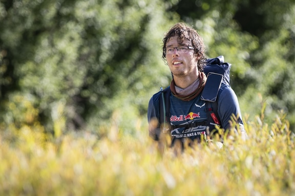 Markus Anders (GER2) seen during the Red Bull X-Alps in St. Hilaire , France on June 25, 2019