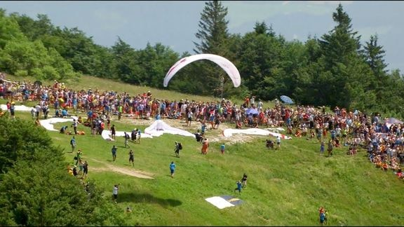 Red Bull X Alps 2019 The Route Turnpoint 1 Gaisberg