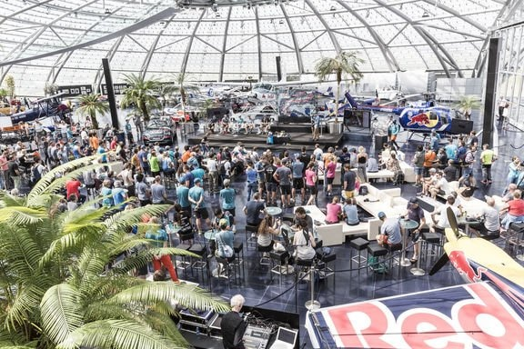 Red Bull X-Alps press conference at Hangar-7, Austria on June 13, 2019